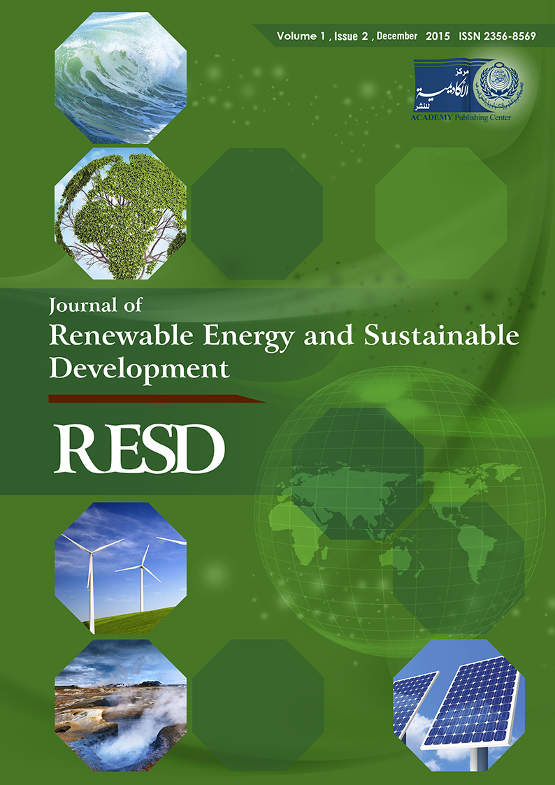 RESD, Vol 1, Issue 2, 2015